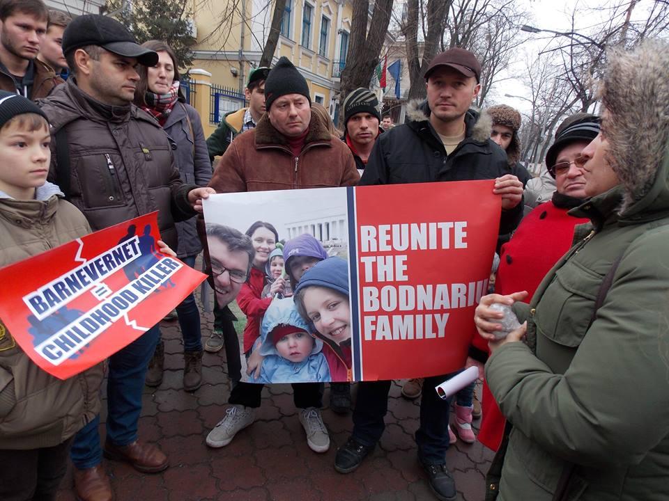 Sobotní demonstrace v Bukurešti