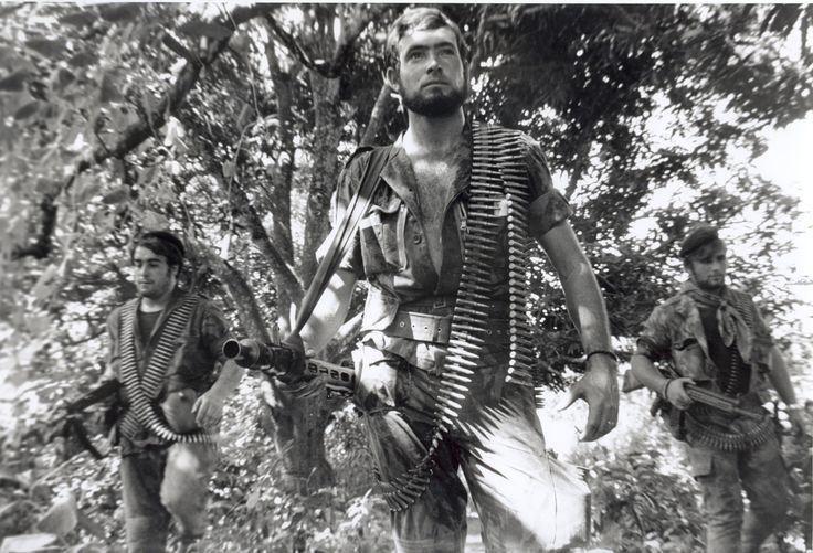 Portugalští výsadkáři v Angole - muži, které chtěl Che vyhnat