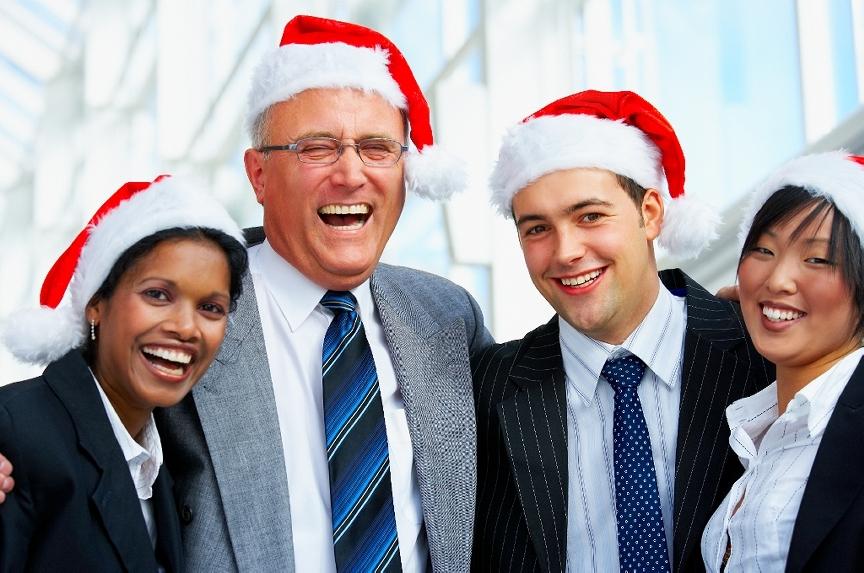 Na Vánočním večírku máte sice, stejně jako všichni, na hlavě ty stupidní santovský čepičky, musíte se, stejně jako všichni, smát trapným vtipům šéfa, ale aspoň si jako jediný na večírku vrznete