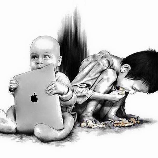 Život je otázkou priorit - pokud máte co jíst.