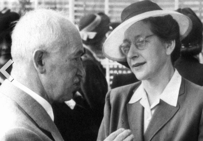 Horáková jako poválečná poslankyně s tehdejším prezidentem Edvardem Benešem. Oba bojovali za svobodu a demokracii a oba byli komunismem poraženi.