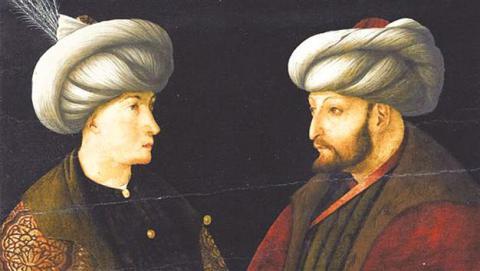 Sultán Mehmet II. na obraze Gentile Belliniho