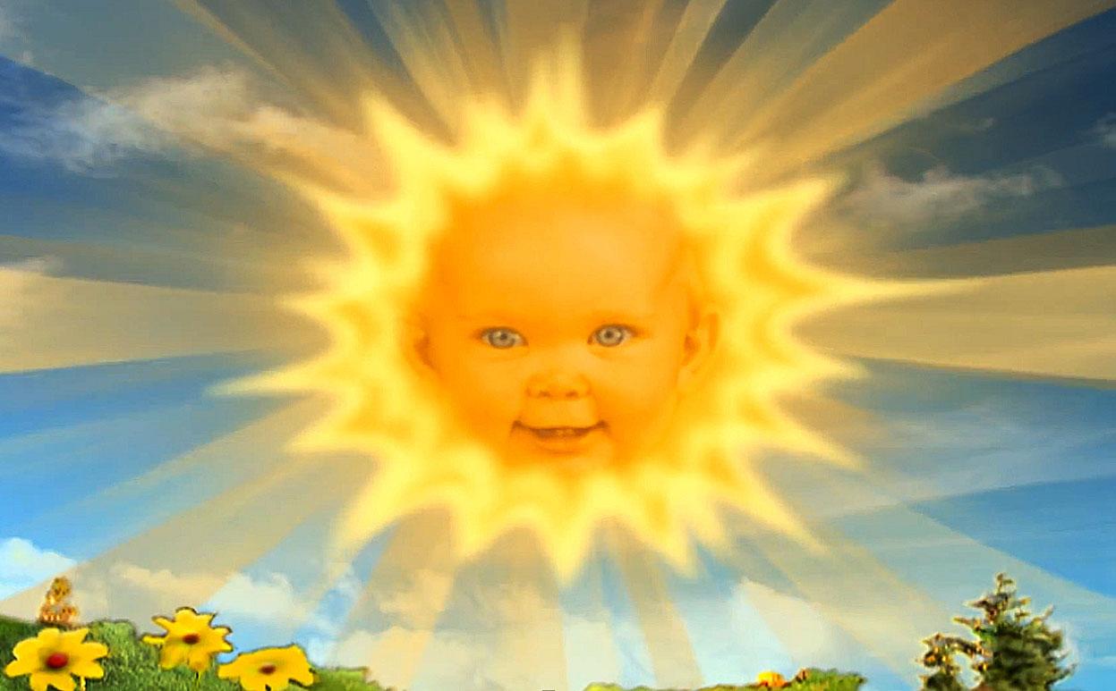 Sluníčkářské dítě