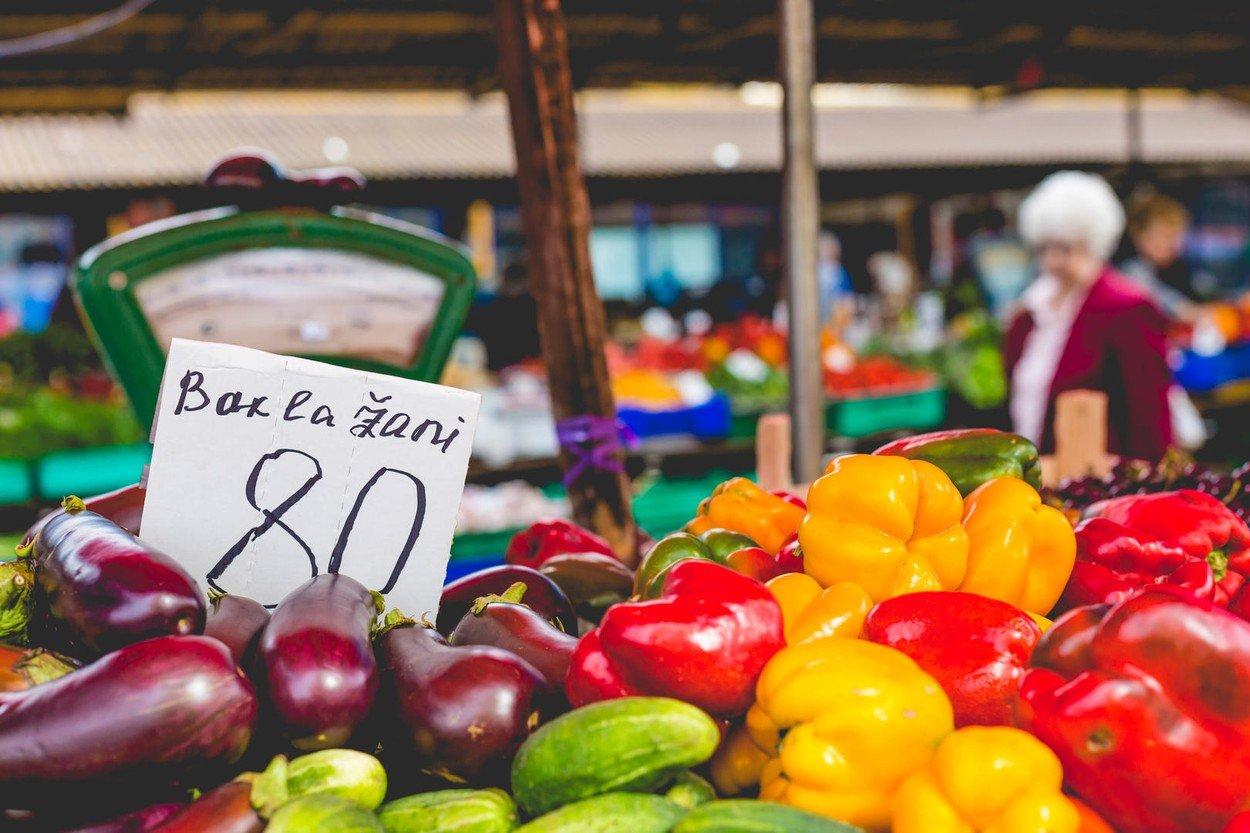 Samozřejmostí je samozřejmě i čerstvá lokální zelenina...