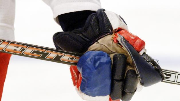 Takhle speciálně upravenou rukavici musel mít Jaromír v roce 2005 ve Vídni (aby pak i se zlomeným malíčkem přispěl k našemu vítězství)