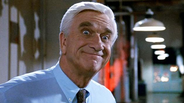 Nejslavnější Nielsenovou rolí je policista Frank Drebin z Bláznivé střely.