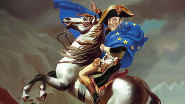 Demokraticky zvolený prezident Francie se podle svých kritiků chová spíše jako absolutistický eurocísař.
