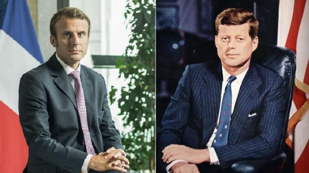 Oba byli mladí, pohlední a plní ideálů. Srovnání Emmanuela Macrona a Johna Fitzgeralda Kennedyho se přímo nabízí.