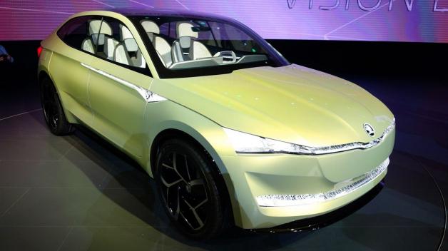 Takto má vypadat Škoda budoucnosti - první koncept elektromobilu Vision E představený v Šanghaji