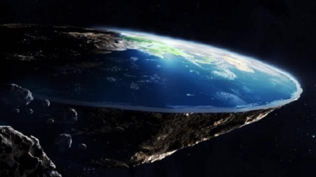Tzv. flat-Earthers věří tomu, že Země je kus skály s placatým vrškem, který pluje vesmírem.