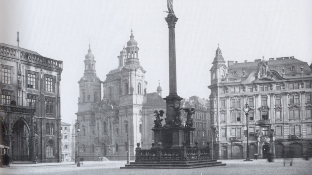 Nyní je již rozhodnuto, že mariánský sloup se do centra Prahy nevrátí.