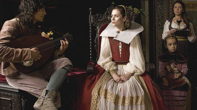 Filmová podoba hraběnky Báthory.