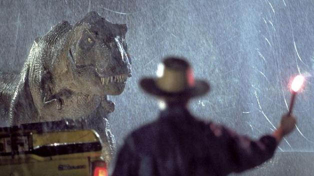 Jurský park, nutnost všech, kdož vyrůstali s dinosaury, a nějaký čas komerčně nejúspěšnější film všech dob.