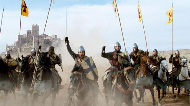 Křížové výpravy zaujaly i filmaře. Režisér Ridley Scott ve filmu Království nebeské vypráví o křižové výpravě očima mladého rytíře Baliana.