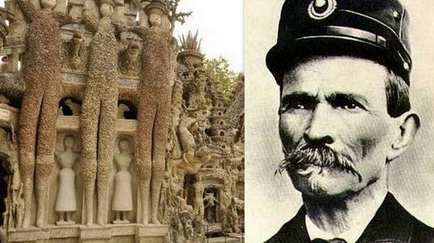 Na stavbě tohoto veledíla se podílel jeden jediný muž – Joseph Ferdinand Cheval, venkovský pošťák.