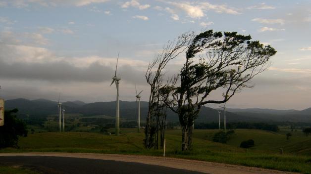 Poryvy silného větru