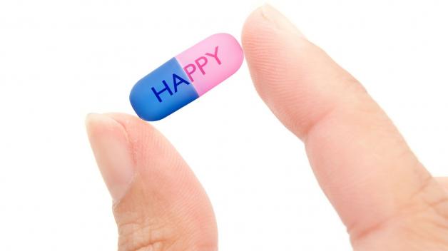 Průměrně se v zemích OECD spotřebuje 60 denních dávek antidepresiv na 1000 obyvatel.