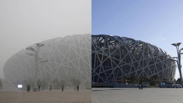 Ne, to opravdu není pohled přes kouřové sklo.