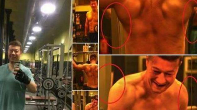 Tomio a jeho falešné svaly. Nelze nemilovat!