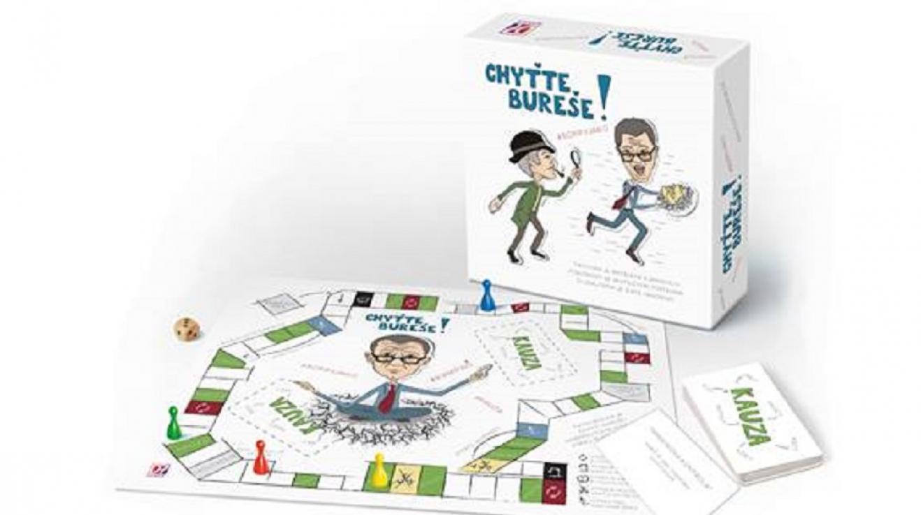 Chyťte Bureše! je zábavná desková hra pro celou rodinu.