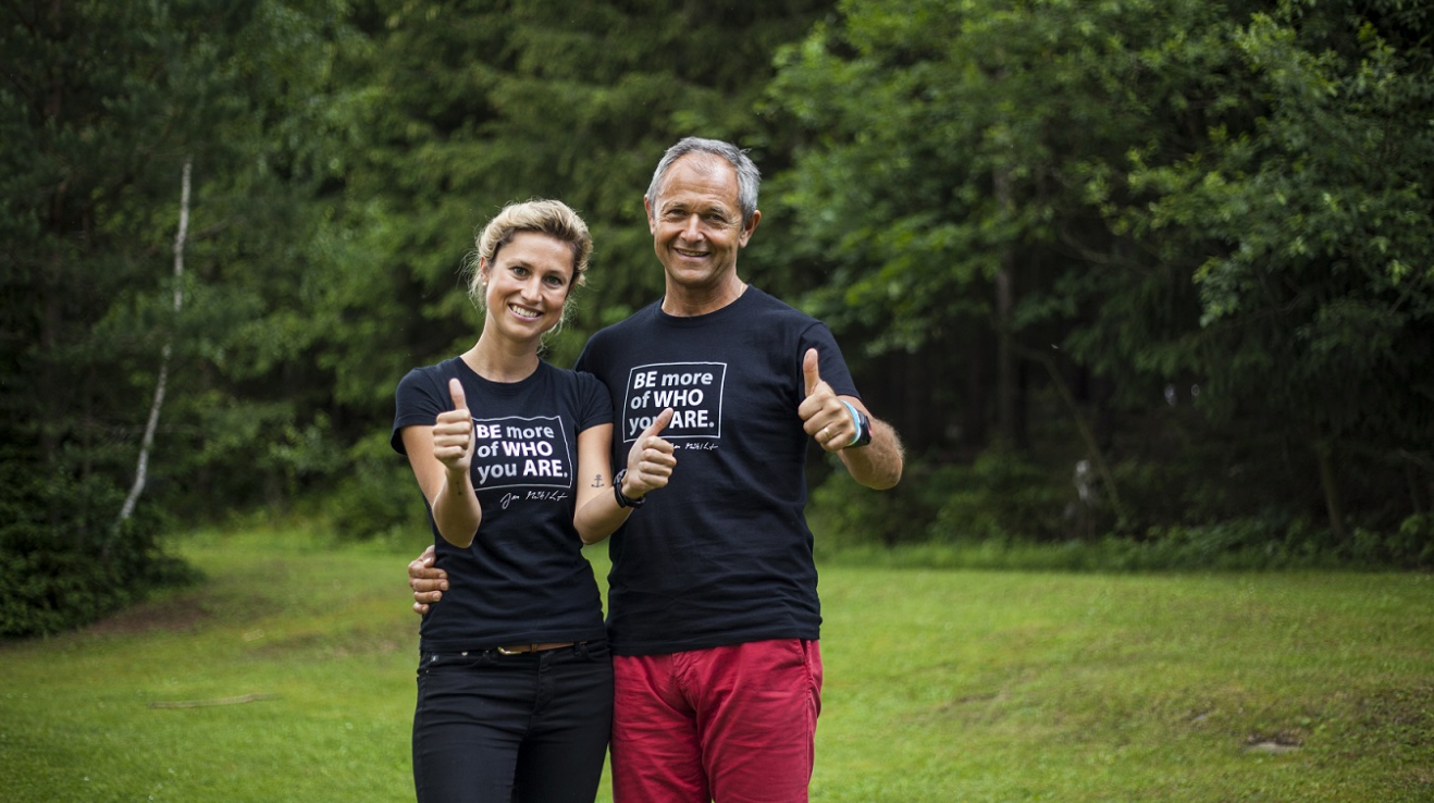 Jan Mühlfeit a Katka Novotná jsou lektory kurzů Odemykání dětského potenciálu.