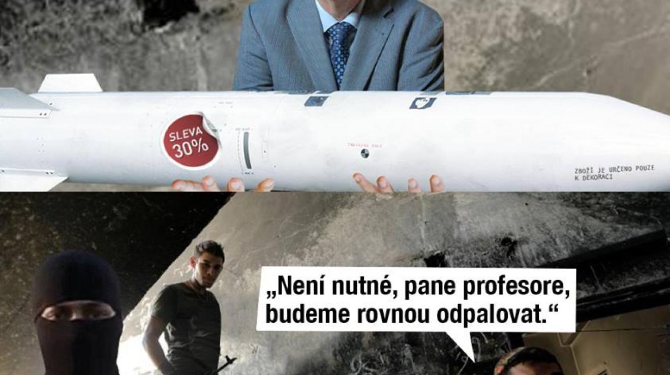 Jiří Drahoš nemá svědomí