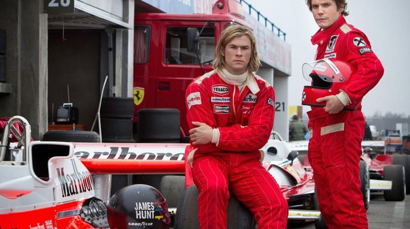 Rivalové - James Hunt a Niki Lauda.
