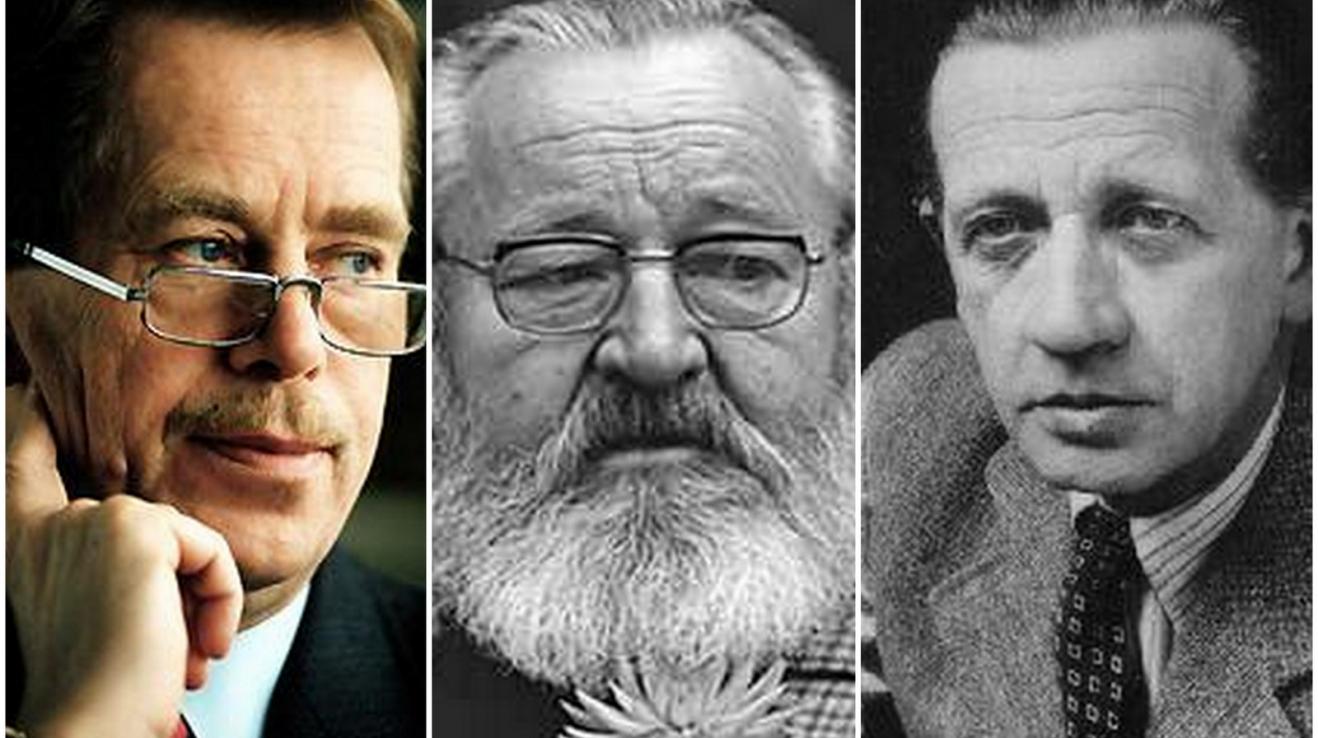 Havel, Werich, Peroutka... někteří autoři necitátů.