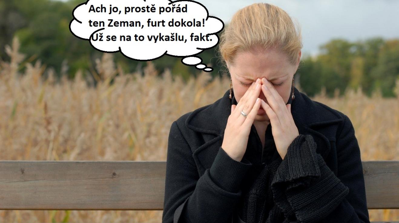 V roce 2018 budeme řešit hlavně staro-nová témata. Kupříkladu Miloš Zeman a jeho prezidentování, to je prostě stálice.