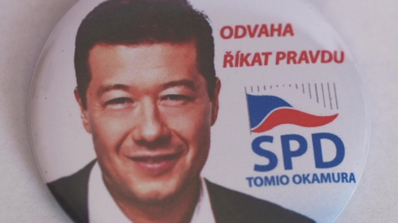 k ceně patří samozřejmě i výroční odznáček SPD