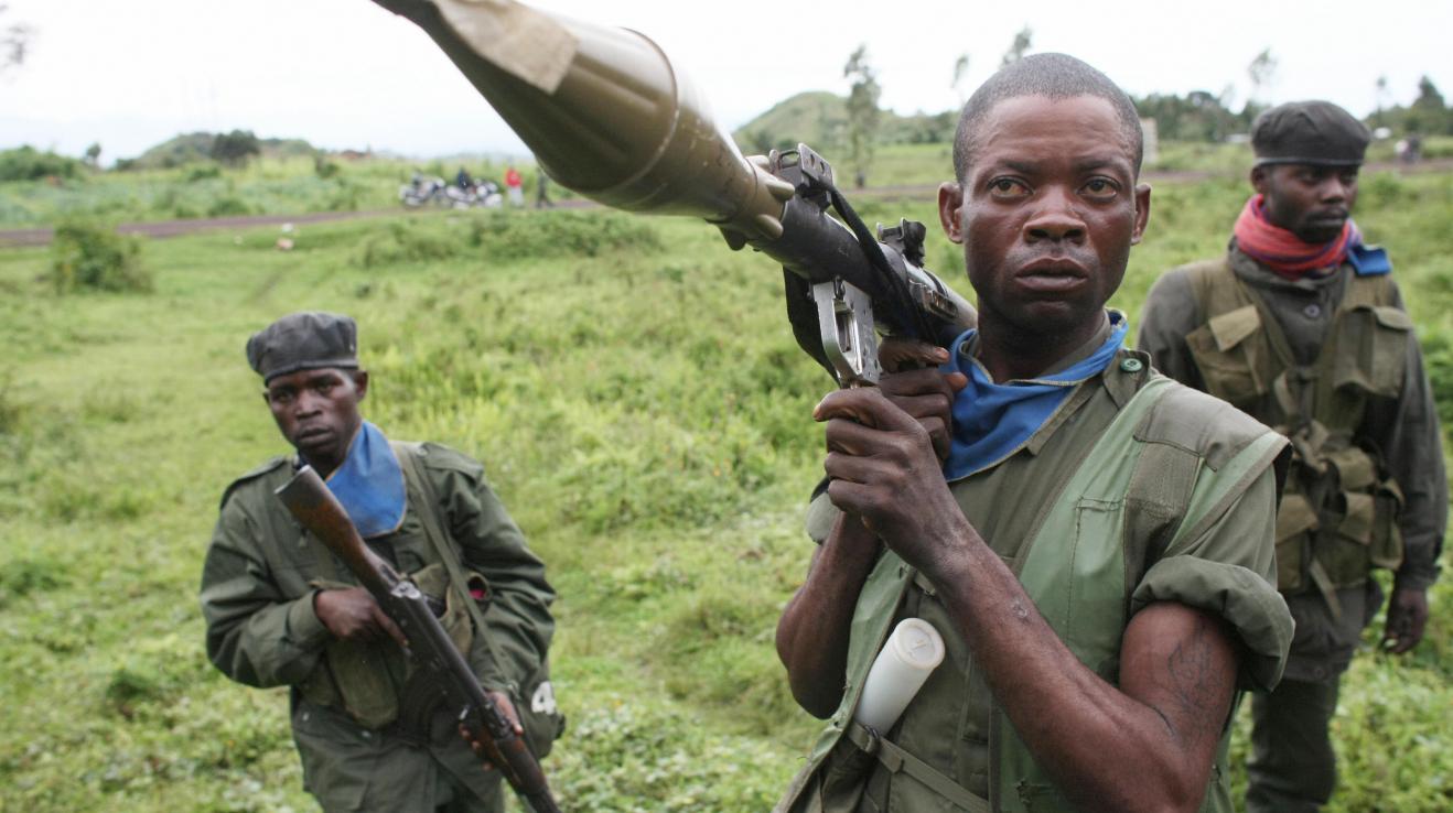 Konžští vojáci