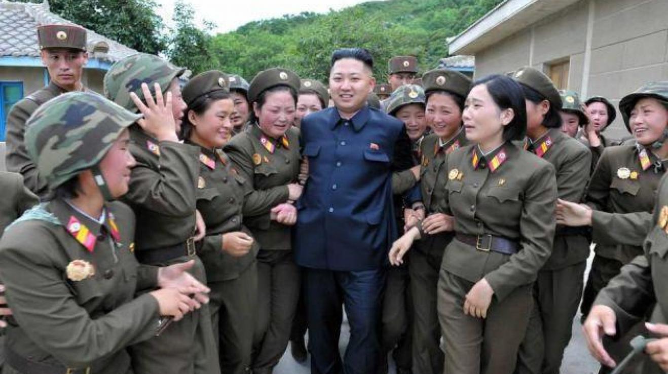 Malý velký Kim vzbuzuje obdiv.