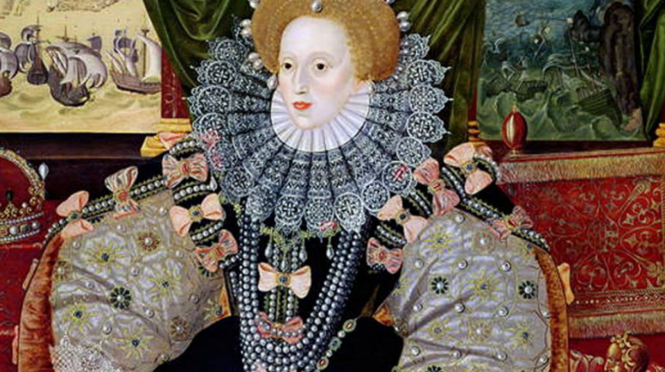Alžběta I., královna Anglie a Irska, od 17. listopadu 1558 až do své smrti 23. března 1603. Dcera Jindřicha VIII. a jeho druhé ženy, Anny Boleynové. Pátá a poslední panovnice z rodu Tudorovců.