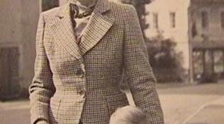 Milada Horáková s dcerou Janou. V době popravy matky bylo Janě 16 let. Následně emigrovala do Ameriky.