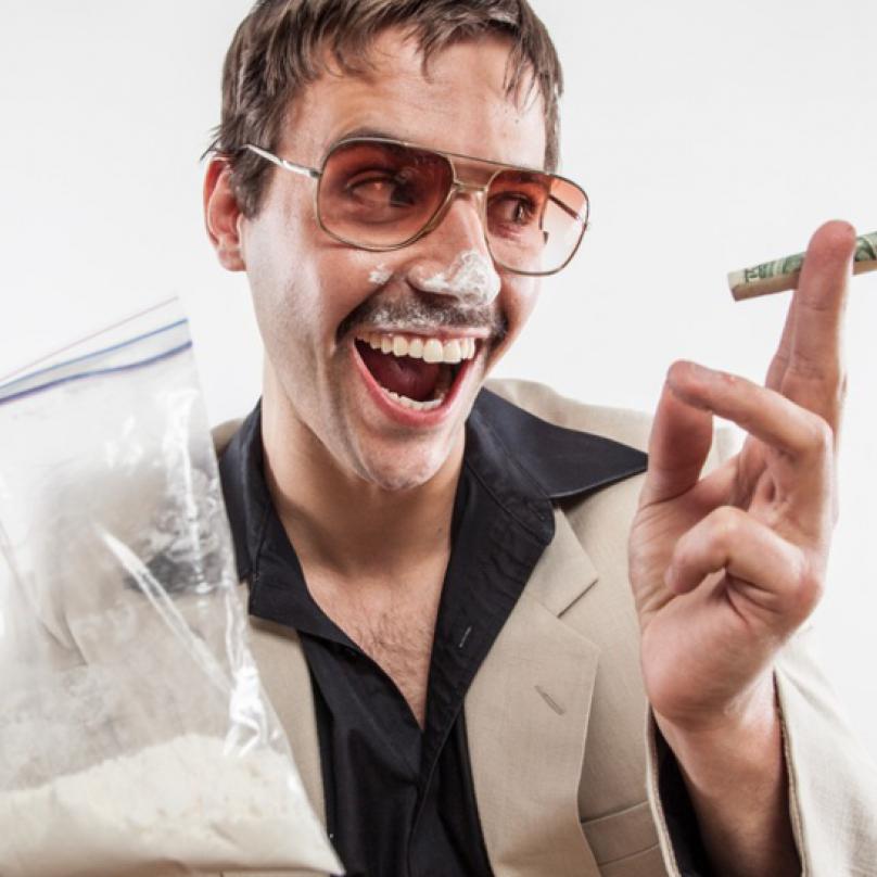 V USA byl v 60. letech pervitin zakázán. Na scénu však přišel kokain.