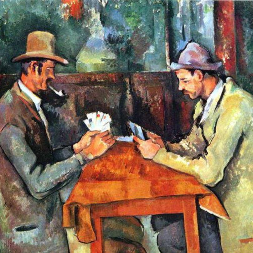 Hráči karet od Paula Cézanna stáli současného majitele 250 milionů dolarů, tedy 5,4 miliardy korun.