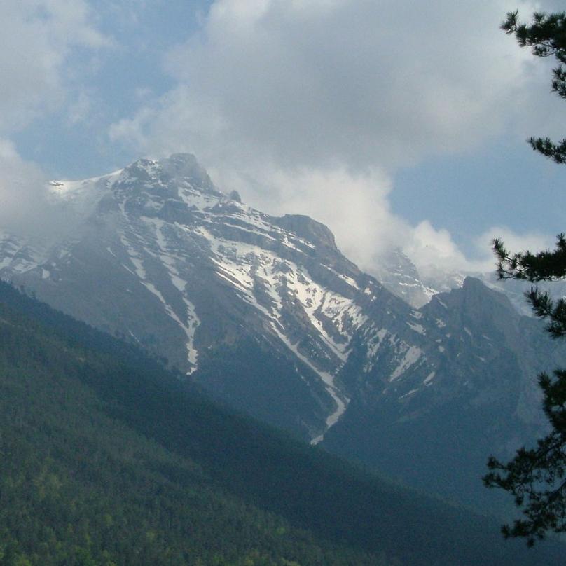 Pohoří Olymp je také prvním řeckým národním parkem.