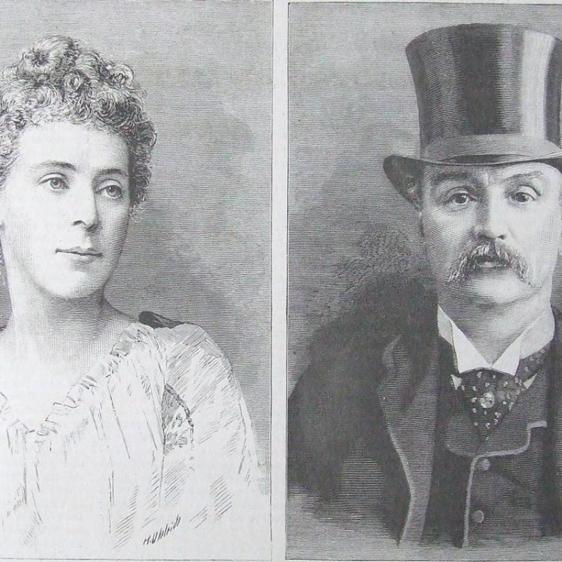 Mohl vraždit obchodník James Maybrick? Krátce po Rozparovačově řádění muž zemřel, z jeho usmrcení byla obviněna jeho manželka.