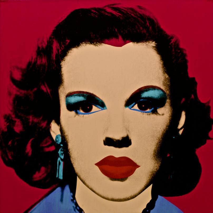 Portrét Judy Garland