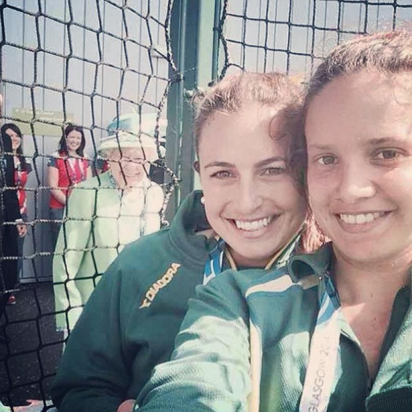 Kdo se může pochlubit, že má selfie s královnou?