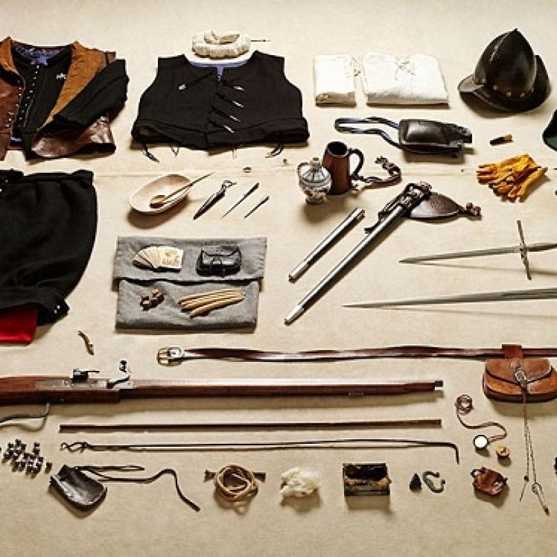 Vybavení mušketýra, Tilbury, 1588
