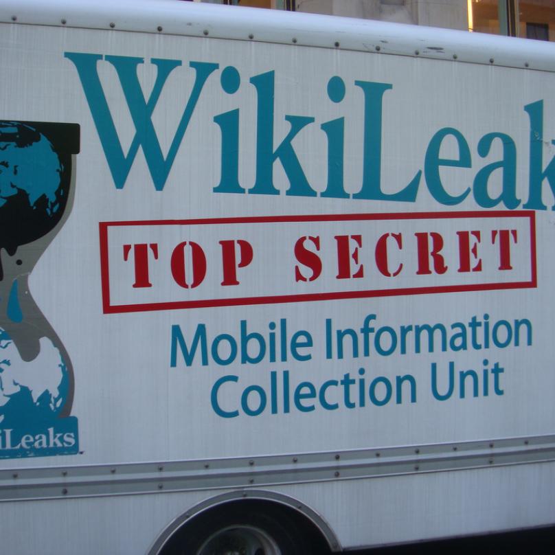 Díky WikiLeaks bylo zveřejněno velké množství tajných informací.