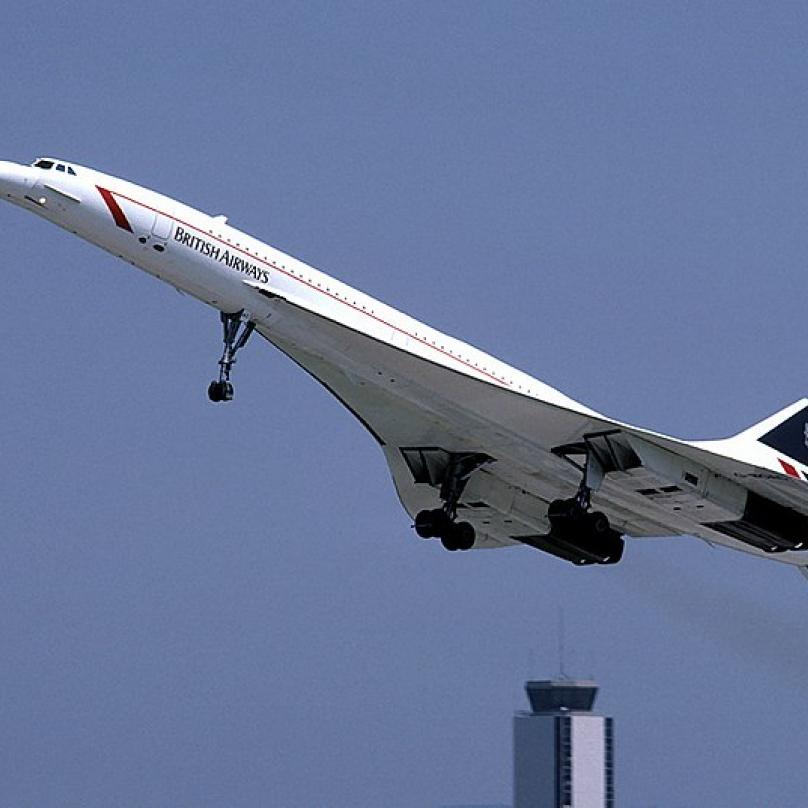 Concorde - do roku 2000 nejbezpečnější letadlo světa.