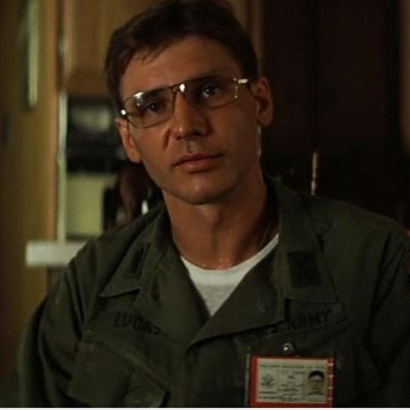 Harrison Ford ve slavné Apokalypse a roku 1979. Režie: Francis Ford Coppola.