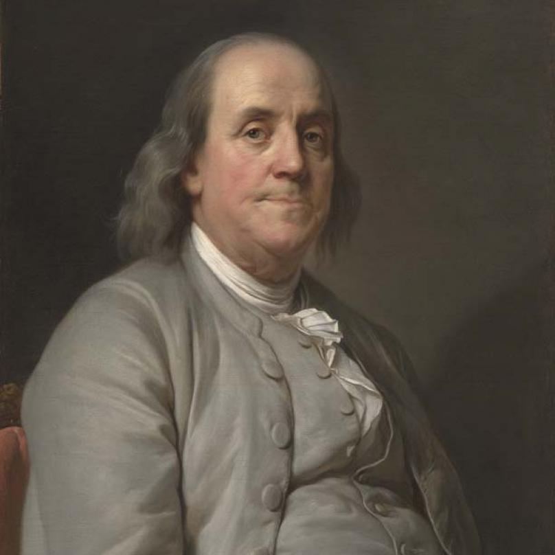 Benjamin Franklin byl americký státník, diplomat, vydavatel, přírodovědec a spisovatel.