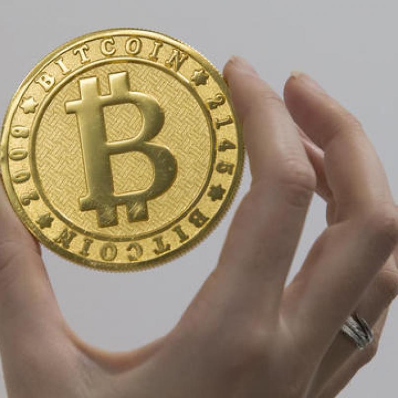 Vytěžený bitcoin