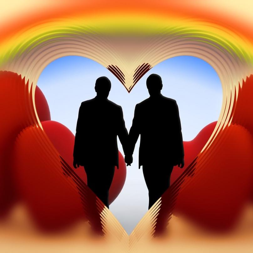 Na oko nemá svazky osob stejného pohlaví v lásce.
