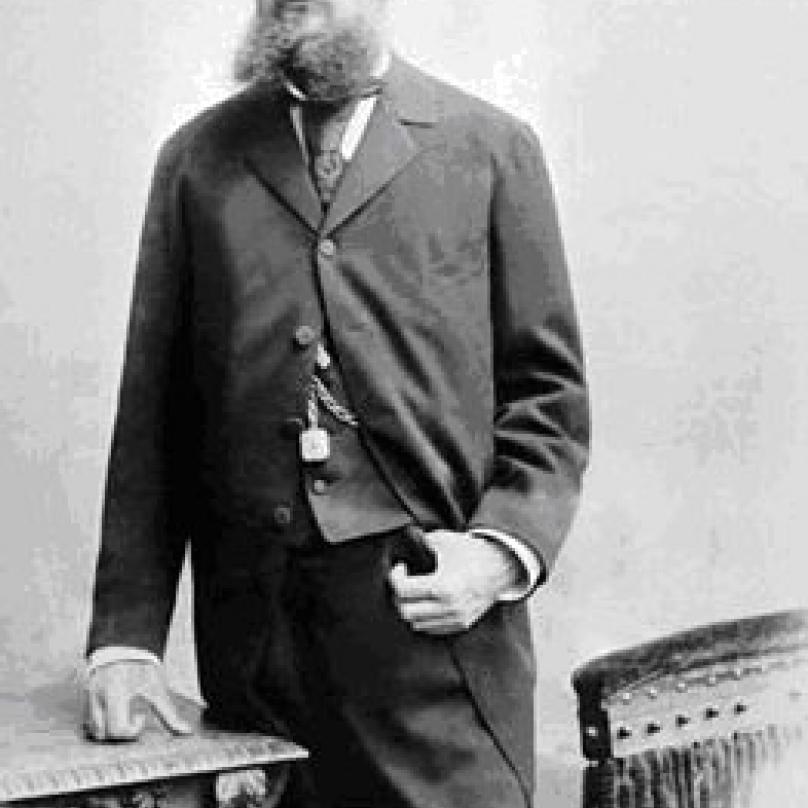 Továrník Emil Škoda