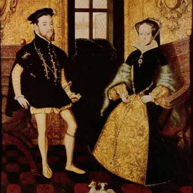 Marie a její manžel Filip.