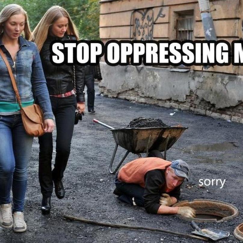 """""""Zastavte útlak žen!"""""""